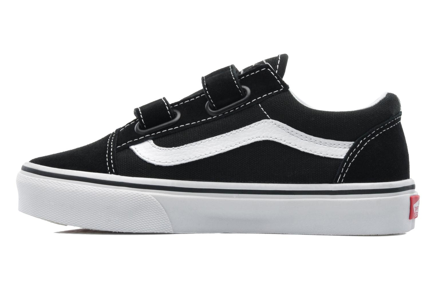 BlackTrue white Vans Old Skool v (Noir)