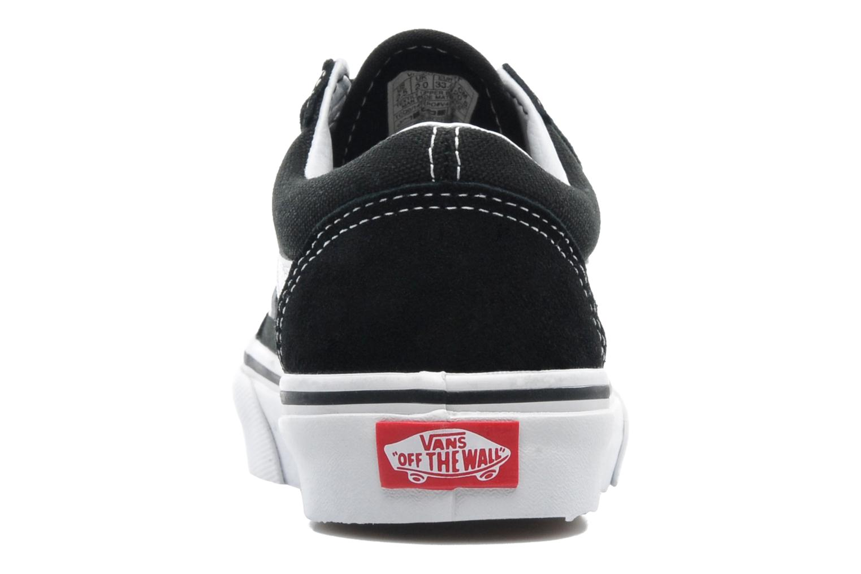Sneakers Vans Old Skool v Nero immagine destra