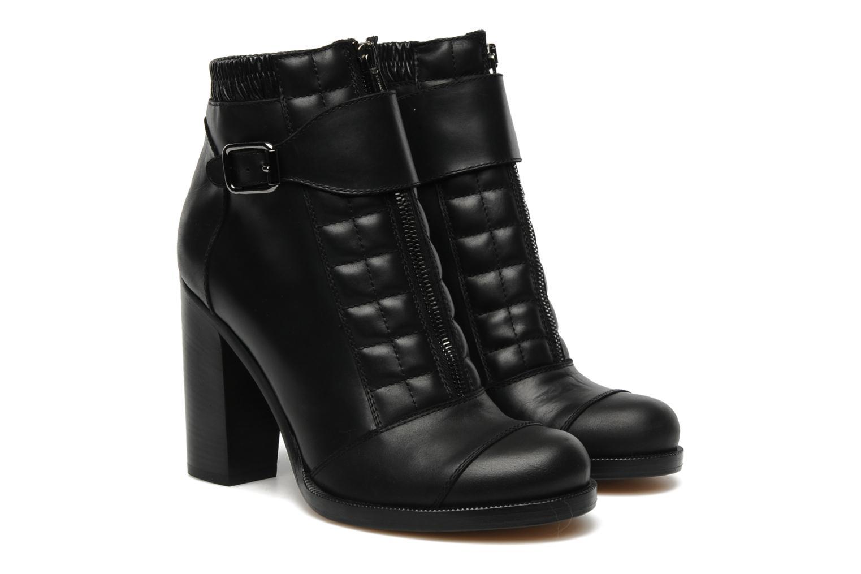 Bottines et boots Vanessa Bruno Vahia Noir vue 3/4