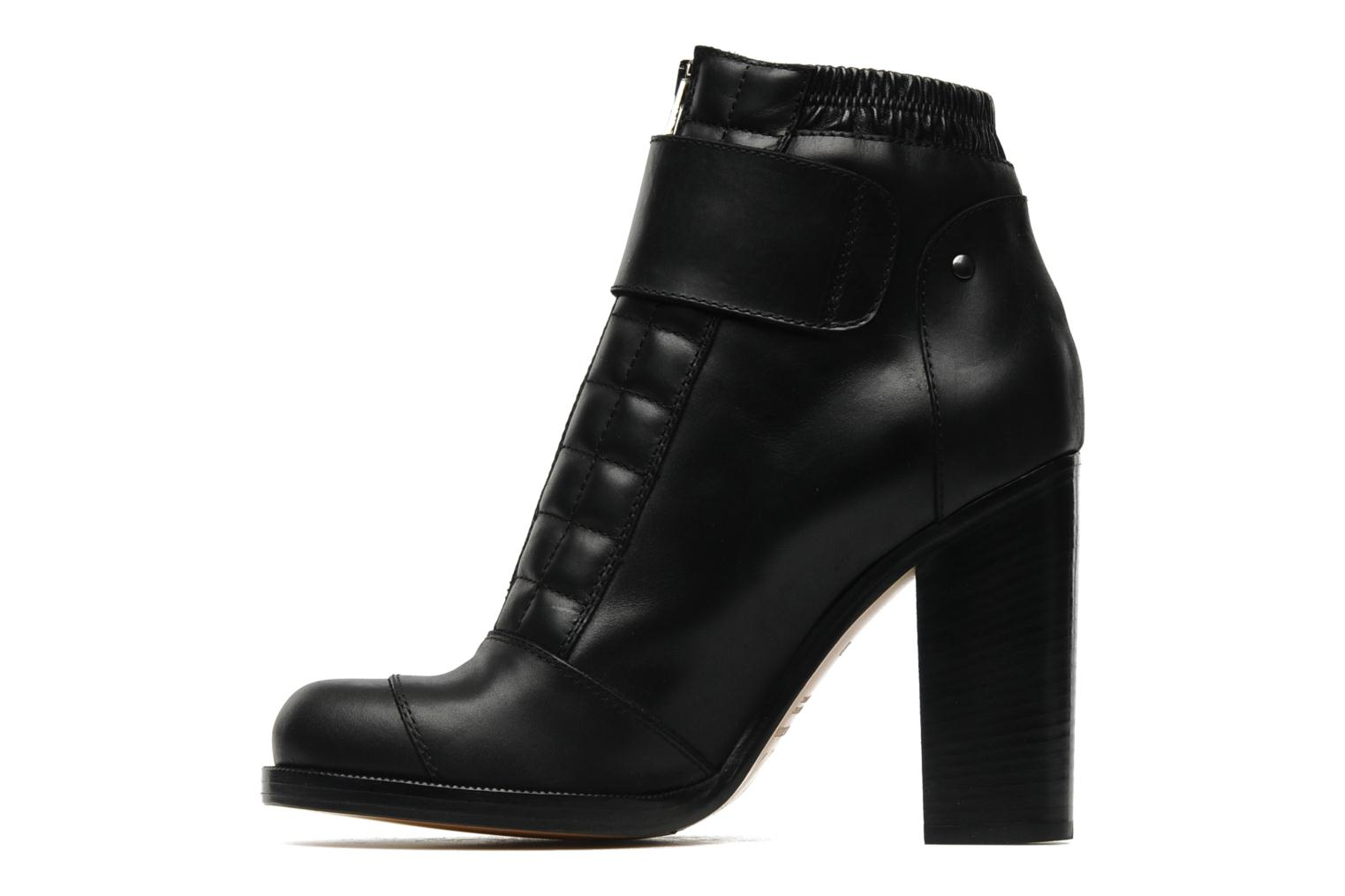 Ankle boots Vanessa Bruno Vahia Black front view