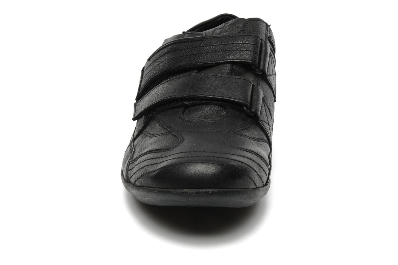 Baskets TBS Loriol Noir vue portées chaussures