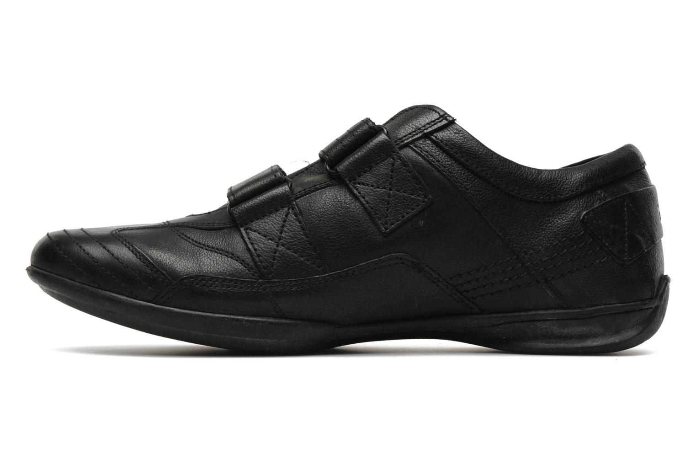 Sneaker TBS Loriol schwarz ansicht von vorne
