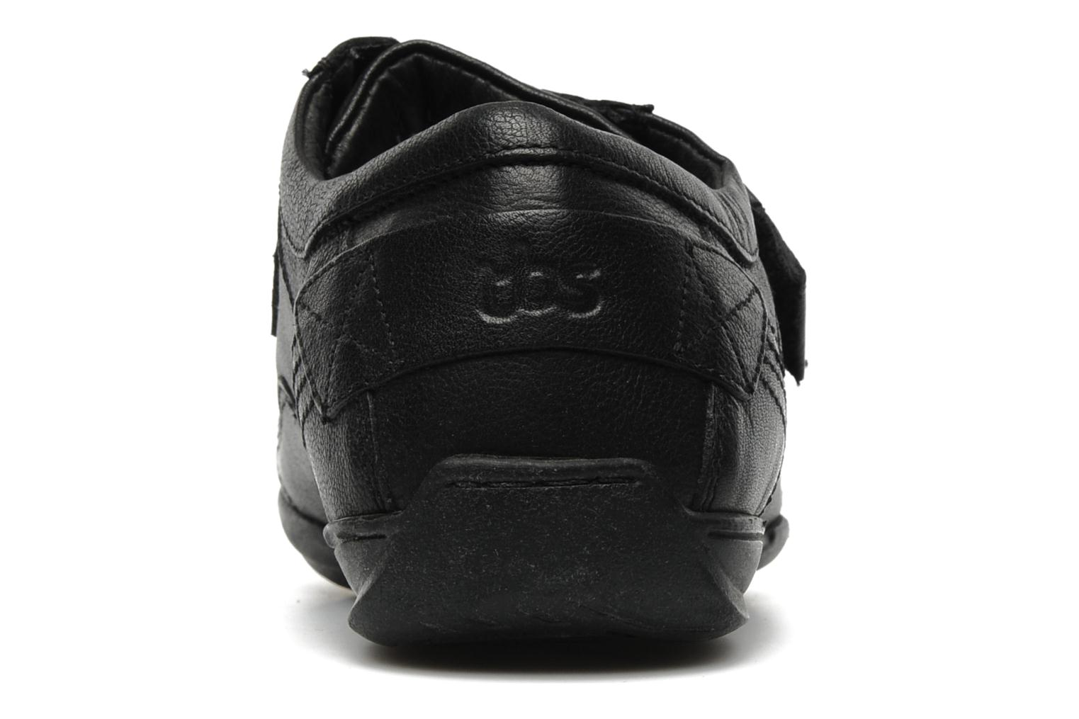 Trainers TBS Loriol Black view from the right