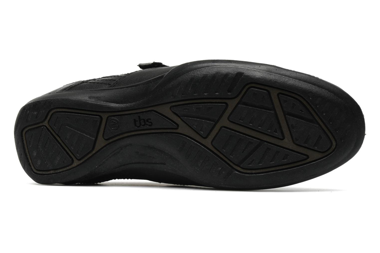 Sneaker TBS Loriol schwarz ansicht von oben