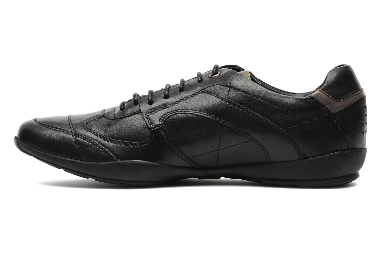 Sneaker TBS Merapi schwarz ansicht von vorne