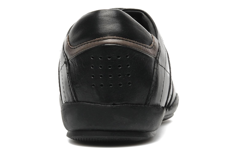Sneaker TBS Merapi schwarz ansicht von rechts