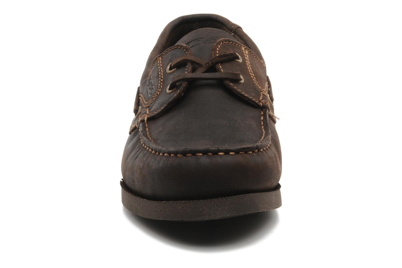 Chaussures à lacets TBS Hauban Marron vue portées chaussures