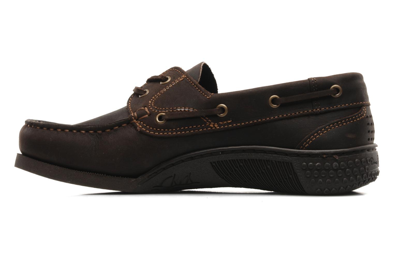 Chaussures à lacets TBS Hauban Marron vue face