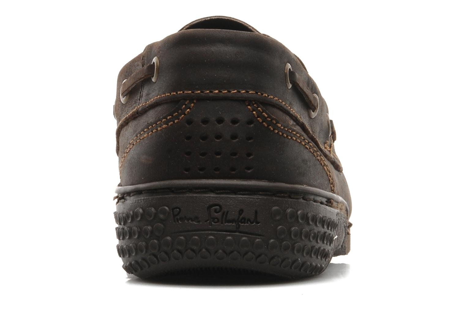 Lace-up shoes TBS Hauban Brown view from the right