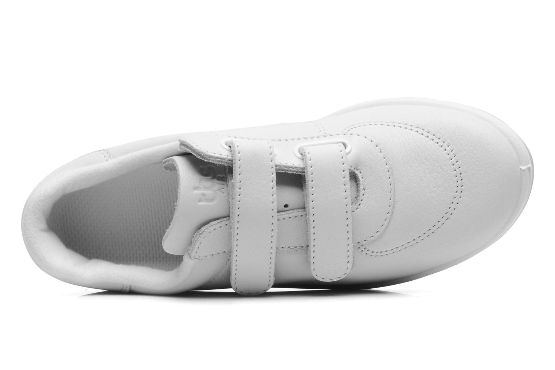 Sneakers TBS Easy Walk Biblio Hvid se fra venstre