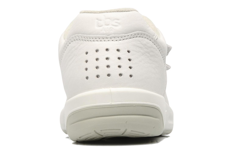 Sneaker TBS Easy Walk Archer weiß ansicht von rechts