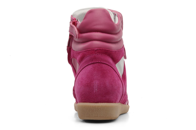 Baskets Hip Blavia Rose vue droite