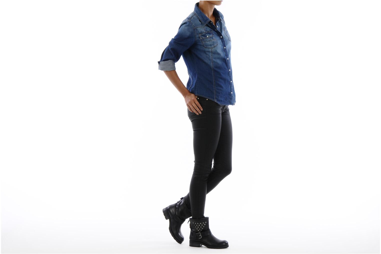 Stiefeletten & Boots Koah Noise schwarz ansicht von unten / tasche getragen