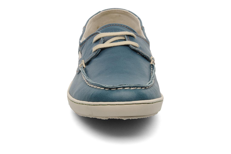 Chaussures à lacets El Naturalista Estratos No342 Bleu vue portées chaussures