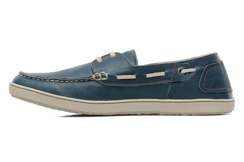 Chaussures à lacets El Naturalista Estratos No342 Bleu vue face