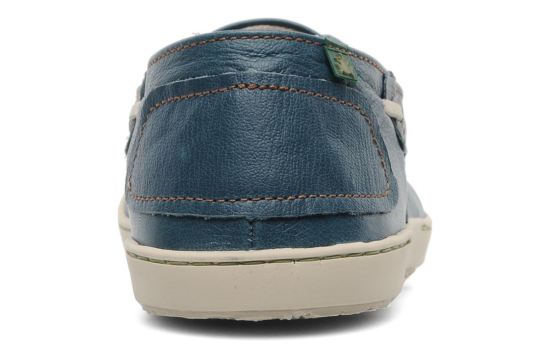 Chaussures à lacets El Naturalista Estratos No342 Bleu vue droite