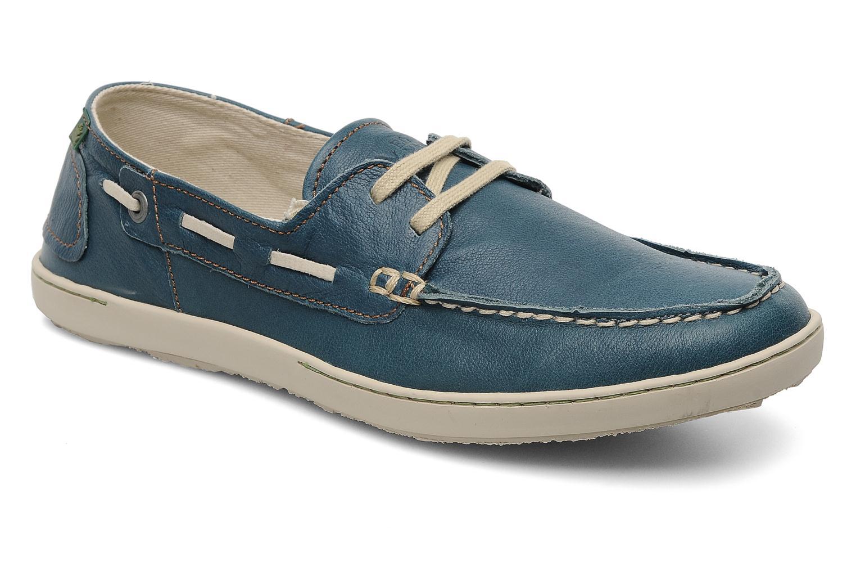 Chaussures à lacets El Naturalista Estratos No342 Bleu vue détail/paire