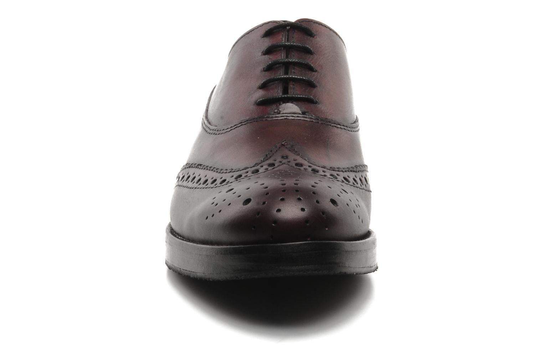 Chaussures à lacets Marc O'Polo Astriide Bordeaux vue portées chaussures