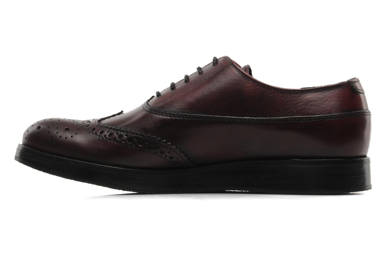 Chaussures à lacets Marc O'Polo Astriide Bordeaux vue face