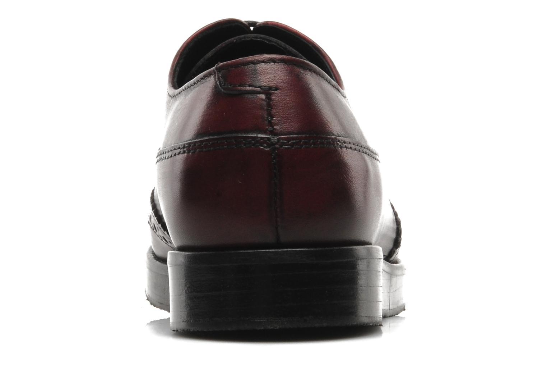Chaussures à lacets Marc O'Polo Astriide Bordeaux vue droite