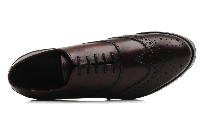 Chaussures à lacets Marc O'Polo Astriide Bordeaux vue gauche