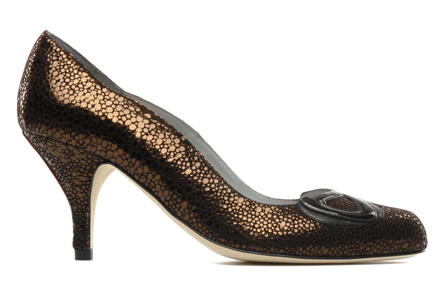 Pumps Fred Marzo Betty Bruin achterkant