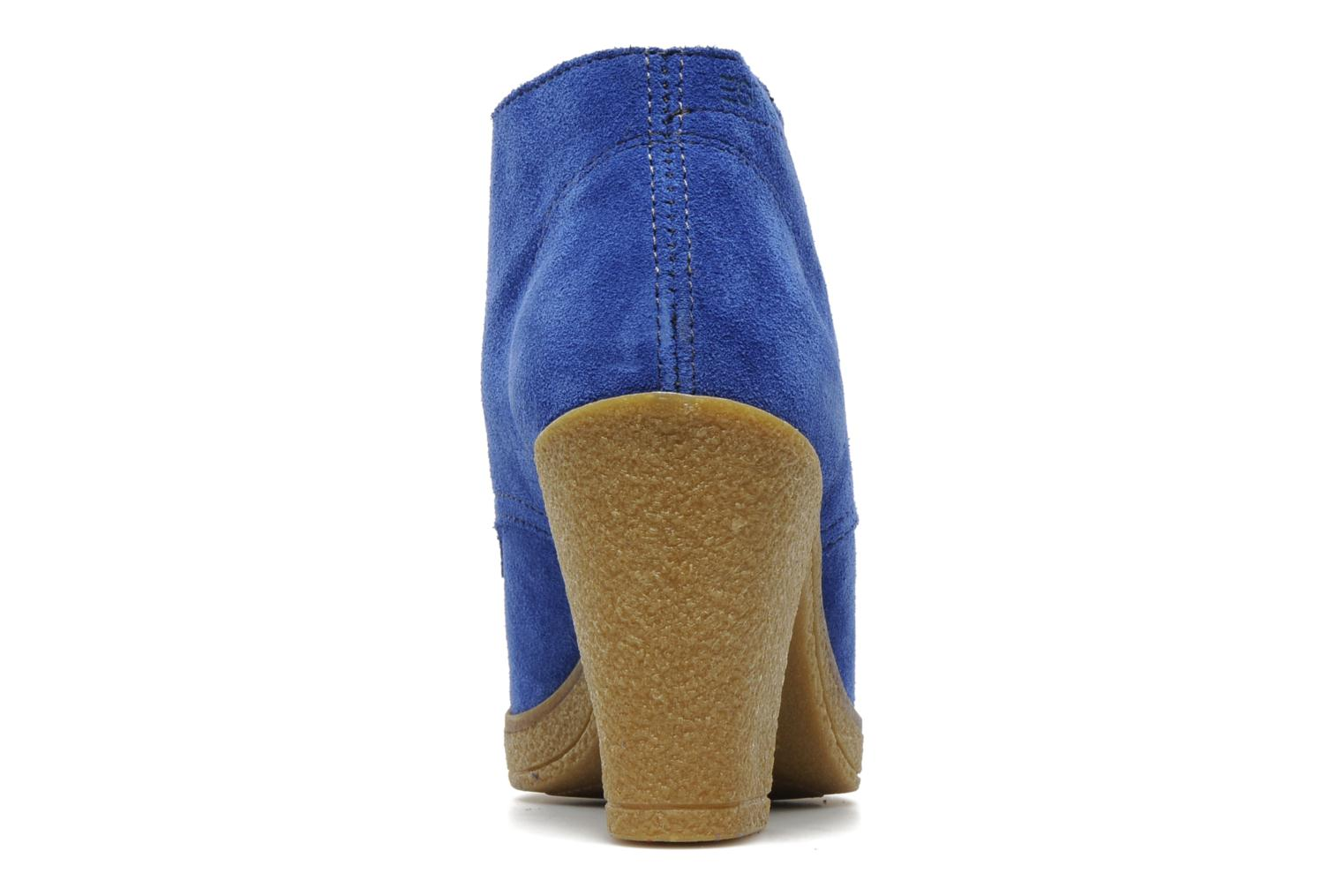 Ankle boots Esprit Mariella Lu Bootie Blue view from the right
