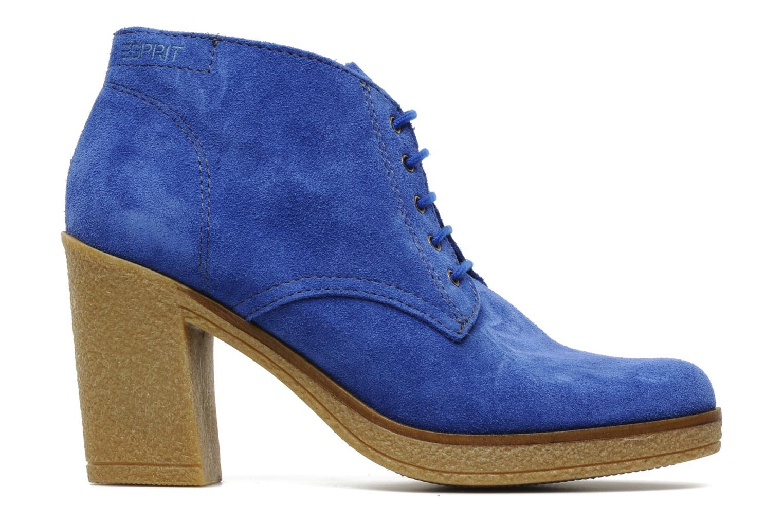 Ankle boots Esprit Mariella Lu Bootie Blue back view