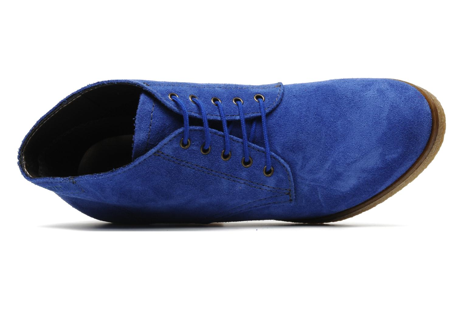 Ankle boots Esprit Mariella Lu Bootie Blue view from the left