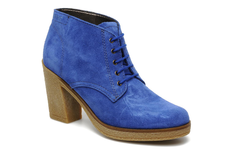 Ankle boots Esprit Mariella Lu Bootie Blue detailed view/ Pair view