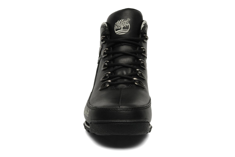 Sneaker Timberland Euro Rock Hiker schwarz schuhe getragen