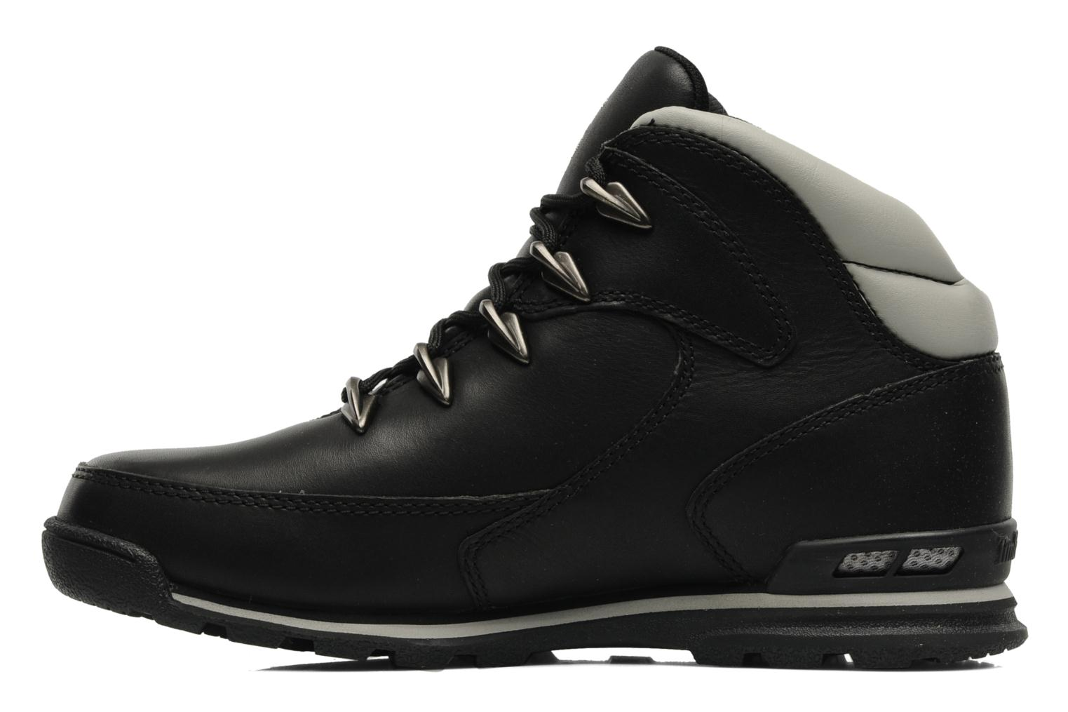 Trainers Timberland Euro Rock Hiker Black front view