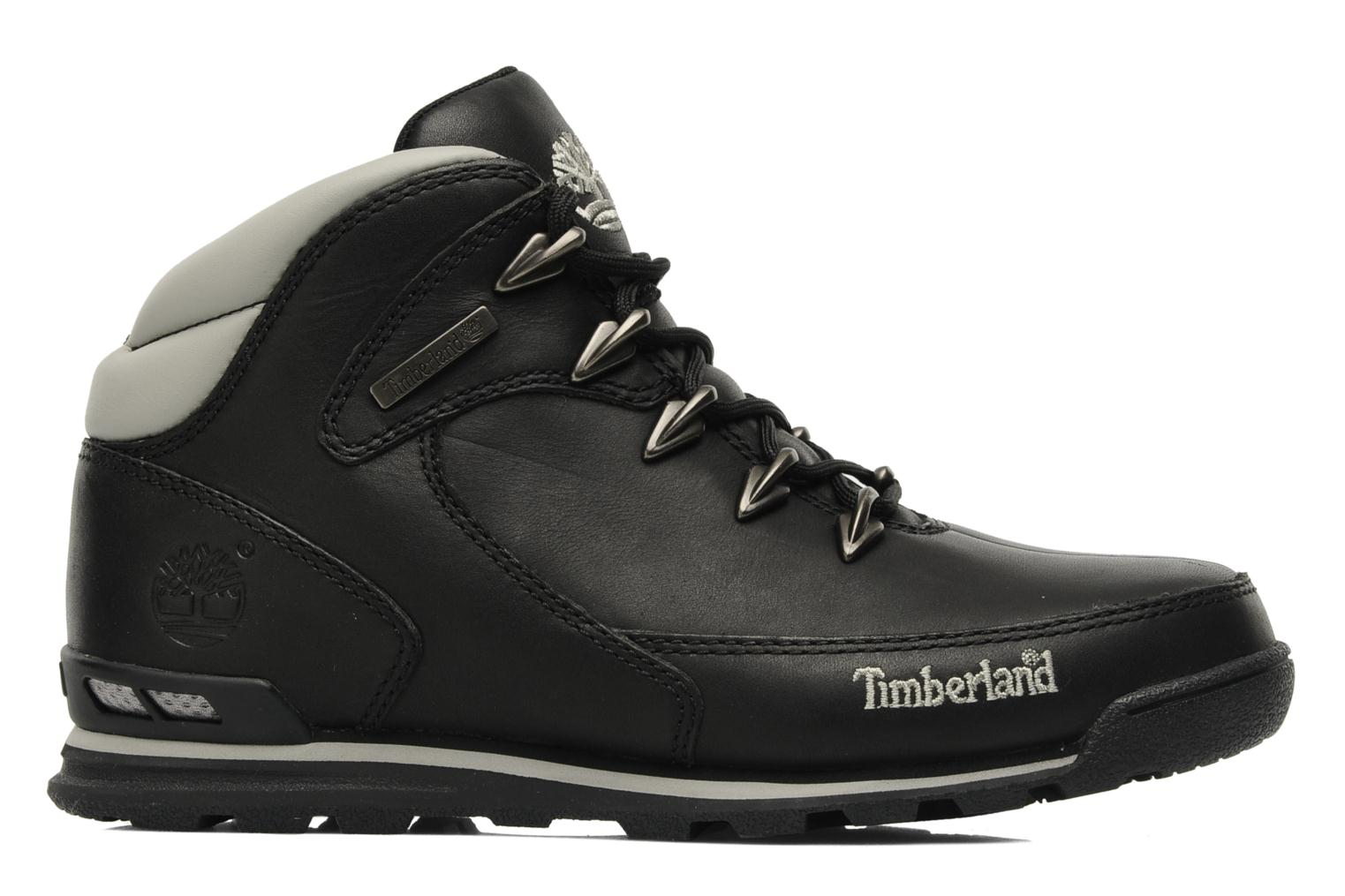 Trainers Timberland Euro Rock Hiker Black back view