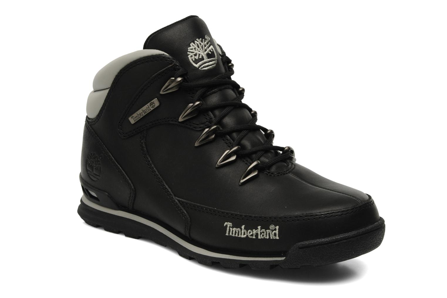 Euro Rock Hiker Black leather