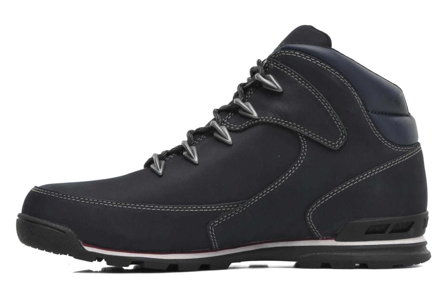 Black leather Timberland Euro Rock Hiker (Noir)