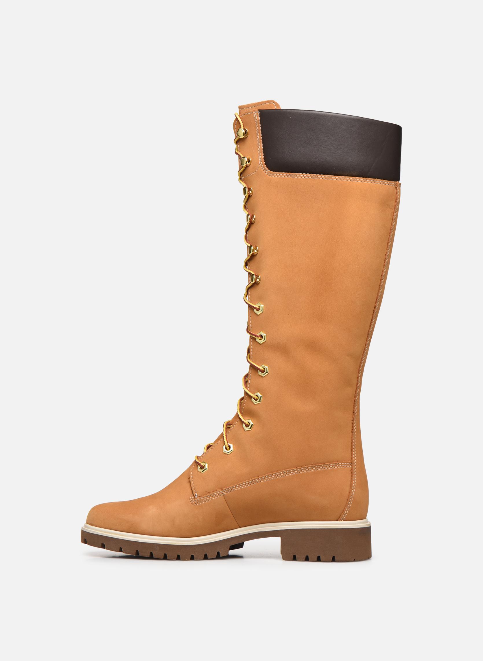 Stiefel Timberland Women's Premium 14 inch gelb ansicht von vorne