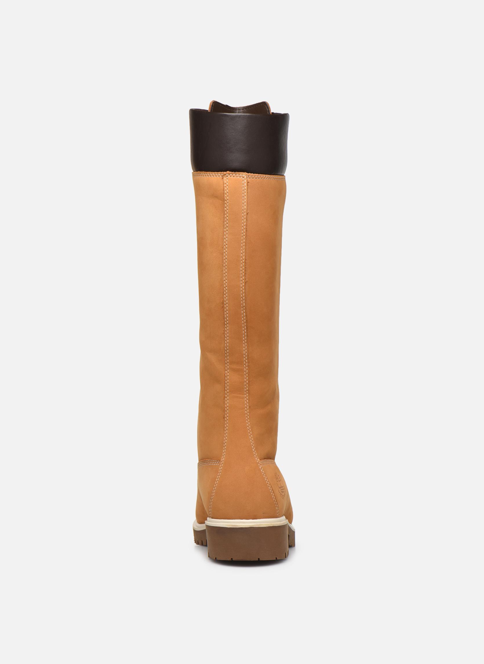 Bottes Timberland Women's Premium 14 inch Jaune vue droite