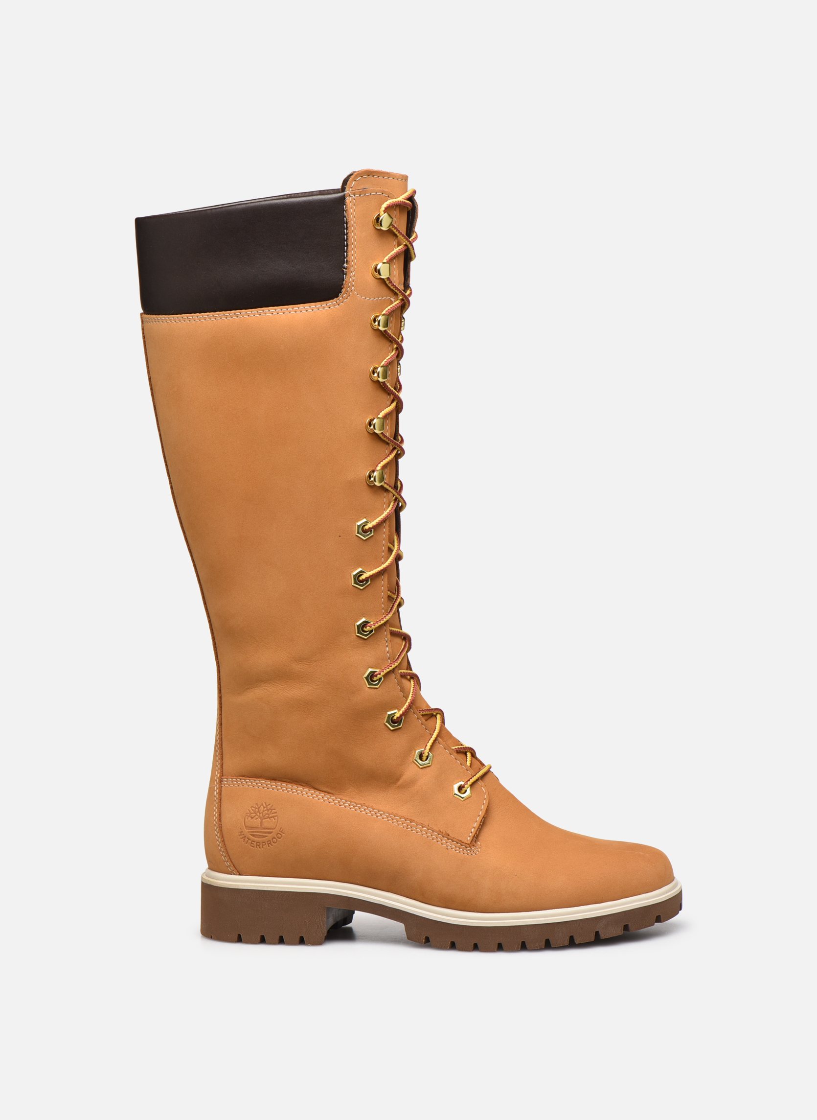 Women's Premium 14 inch Wheat Nubuck