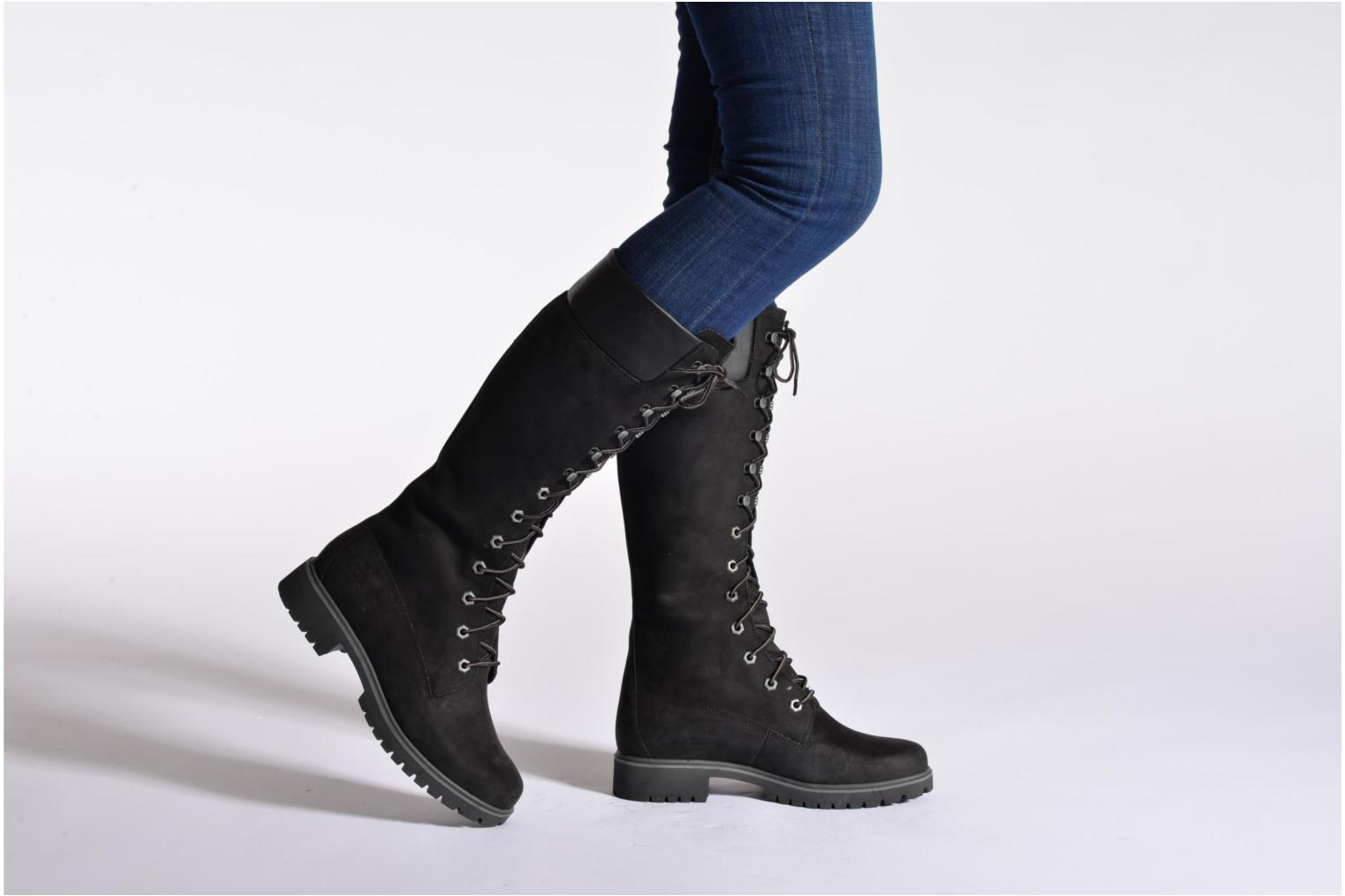Boots & wellies Timberland Women's Premium 14 inch Black view from underneath / model view
