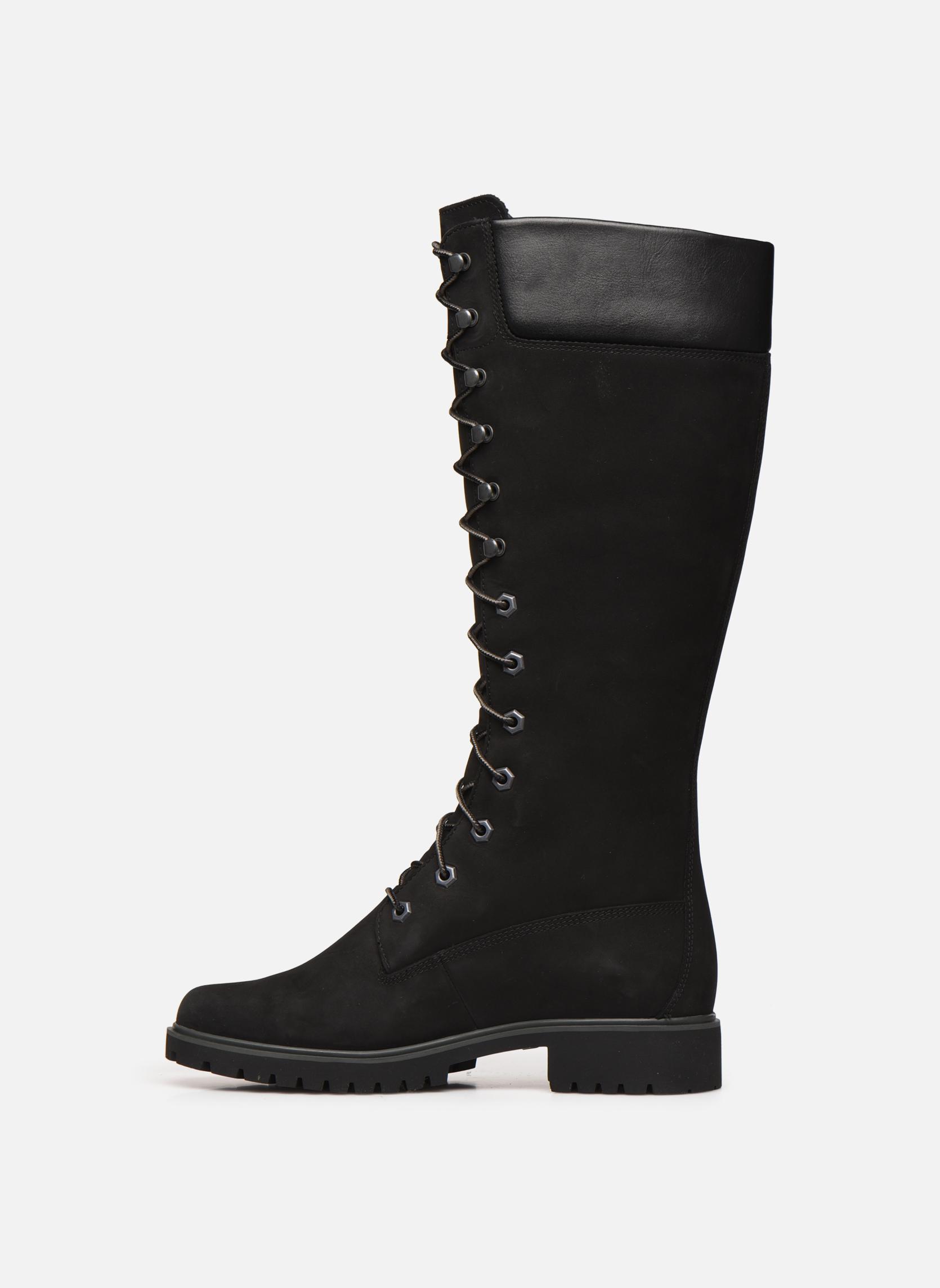 Stiefel Timberland Women's Premium 14 inch schwarz ansicht von vorne