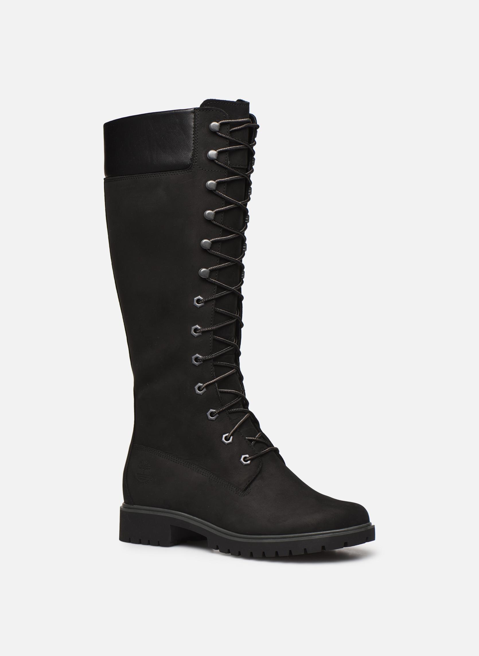 Bottes Timberland Women's Premium 14 inch Noir vue détail/paire