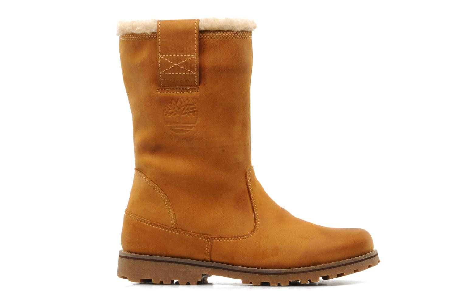 Stiefel Timberland 8 In Pull On WP Boot with Shearling braun ansicht von hinten
