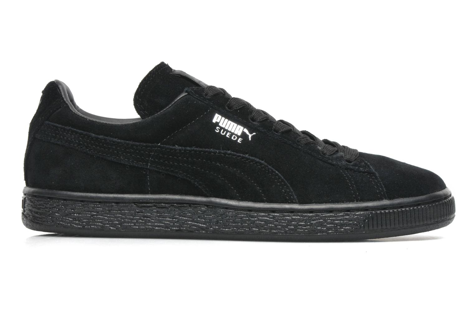 Trainers Puma Suede classic eco W Black back view