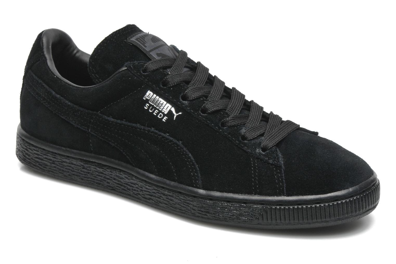 Suede classic eco W Black-Black