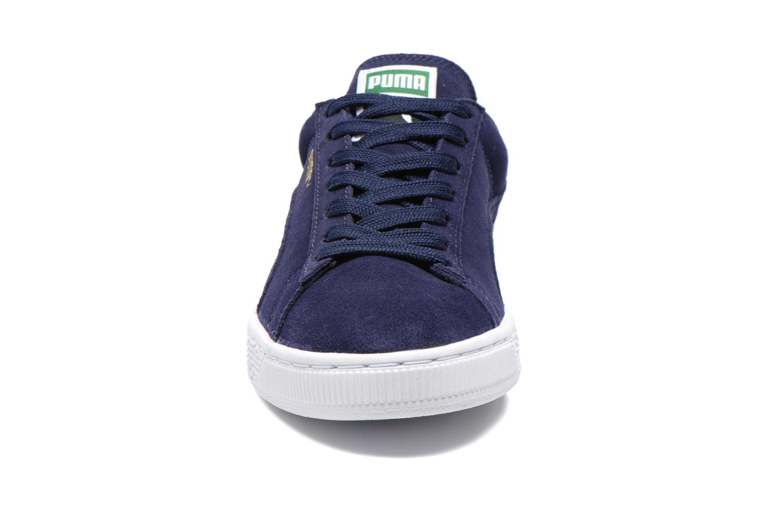 Trainers Puma Suede classic eco W Blue model view