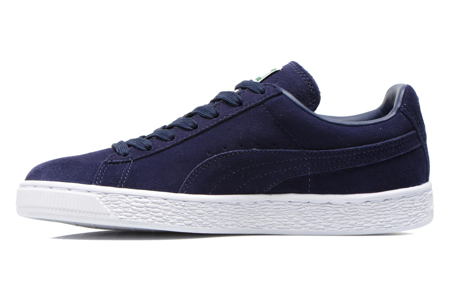 Sneakers Puma Suede classic eco W Blauw voorkant
