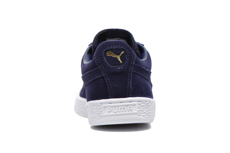 Sneaker Puma Suede classic eco W blau ansicht von rechts