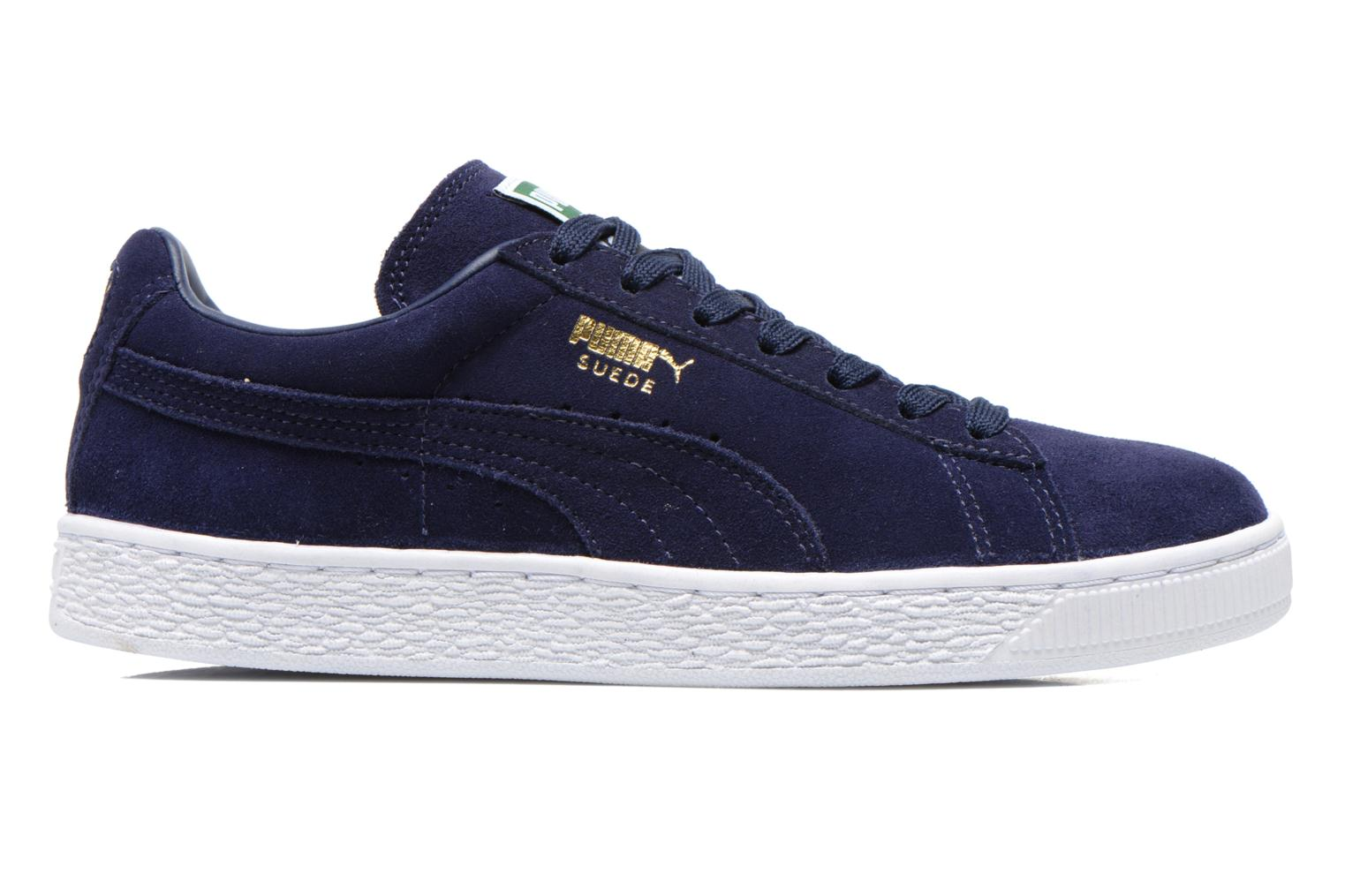 Sneakers Puma Suede classic eco W Blauw achterkant