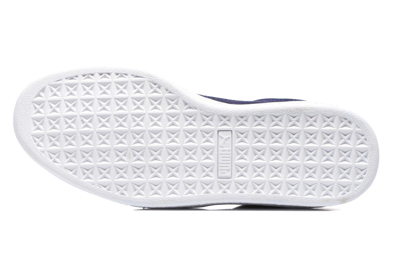 Sneaker Puma Suede classic eco W blau ansicht von oben
