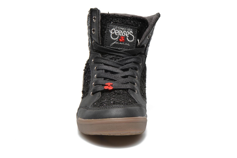 Baskets Le temps des cerises Heritage E Noir vue portées chaussures